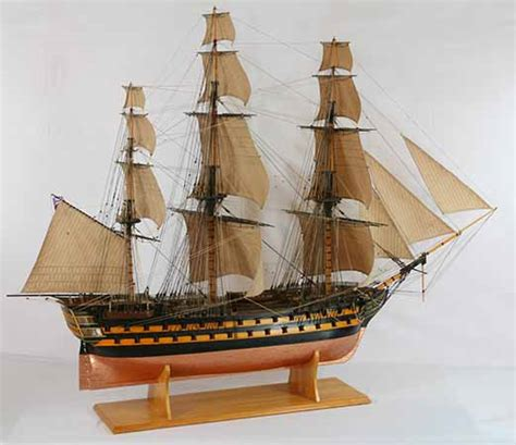 Englisch Stern Boat by Ship Model Of Hms Melville An English 74 Gun Ship Of The