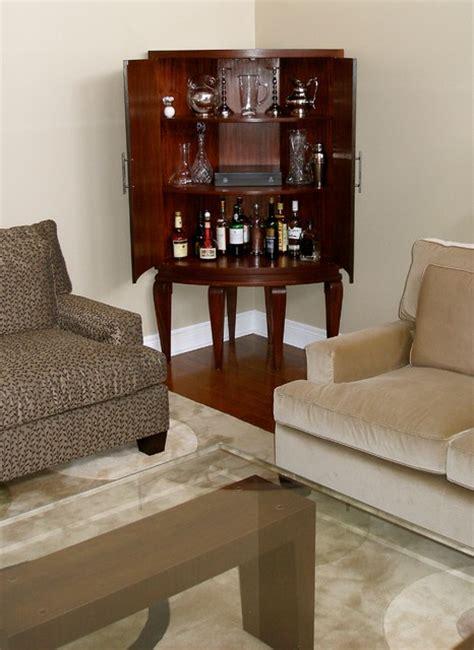living room corner cabinet ideas inside the curved mahogany corner cabinet bar