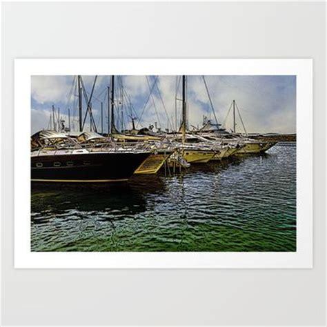 Cartoon Boat Dock by Boat Dock In Croatia Cartoon Art Art Print Cartoon Art