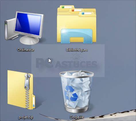 agrandir les ic 244 nes du bureau windows vista et windows 7