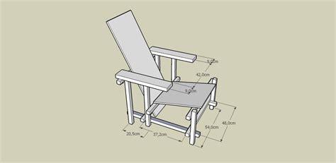 pour le 11 novembre et le 16 novembre la chaise de rietveld archlmd 2010