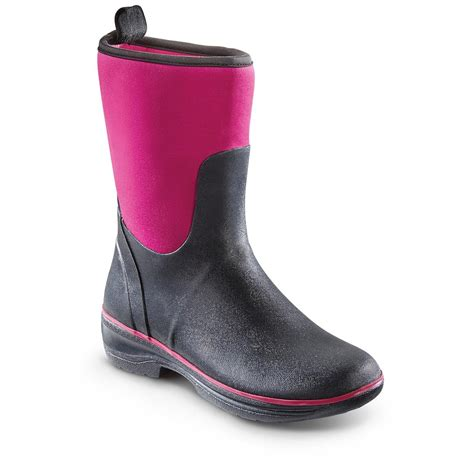 Rubber Boot Pics by Womens Rubber Boots New Orange Womens Rubber Boots