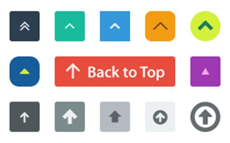 Button Back To Top by Back2top Button 171 Plugins Typesetter Cms