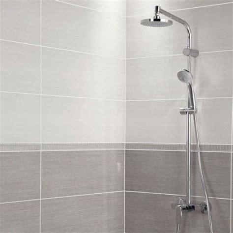 carrelage mural premium en fa 239 ence blanc 24 x 69 cm salle de bain