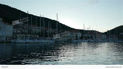 Sailboats Videos by Port With Many Sailboats Stock Video Footage 6068787