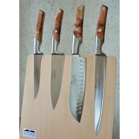 support magn 233 tique pour 4 couteaux quot cuisine thiers quot loupe de cade atelier du couteau