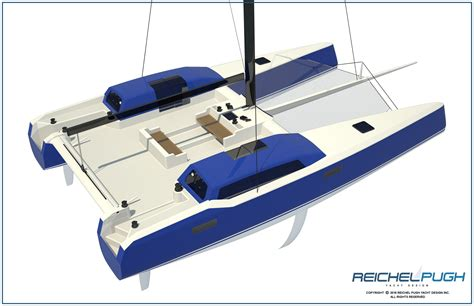 Catamaran Sailing And Design by Reichel Pugh Yacht Design 183 Multihull