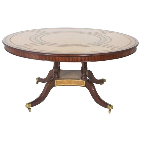 Maitlandsmith Leather Top Round Table For Sale At 1stdibs. Ikea Bed Desk Combo. White Wash Wood Table. Bench Table Set. Best Coffee Table For Sectional. Chest With Wicker Drawers. Teachers Desk For Sale. Table Numbers For Wedding. Jfk Resolute Desk