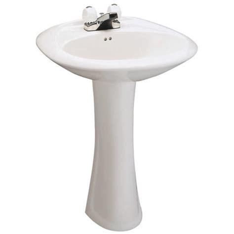 mansfield maverick pedestal bathroom sink 8 quot faucet