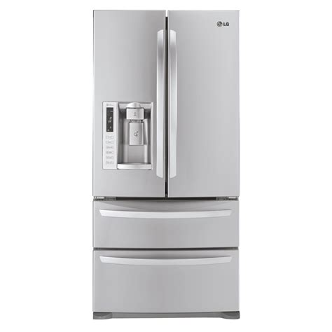 Counter Depth Refrigerator Width 30 by Lg 24 7 Cu Ft French Door Bottom Freezer Refrigerator