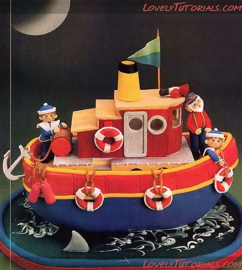 ship pirate and fishingboat cakes 1 a collection of ideas to try about food and drink boat