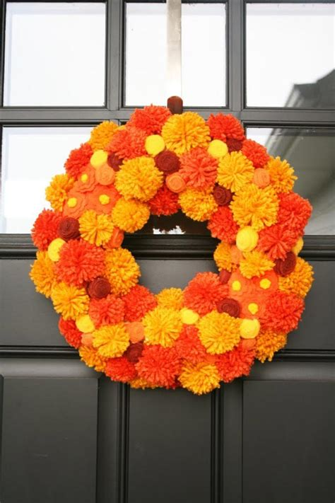 How To Make Front Door Wreaths For Fall Diy Projects Craft Ideas & How To's For Home Decor With