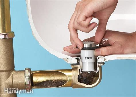 bathtub drain assembly replacement unclog a bathtub drain without chemicals the family handyman