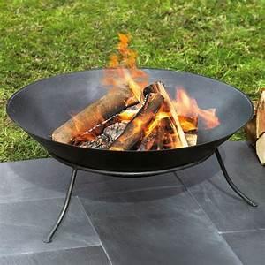 Feuerschale Für Balkon : feuerschale aus eisen 60 cm schwarz test ~ Markanthonyermac.com Haus und Dekorationen