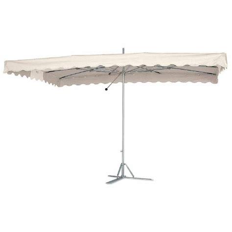 parasol toile blanc et armature paragliss housse 4 x 3m mat 233 riel de march 233 224 prix imbattable