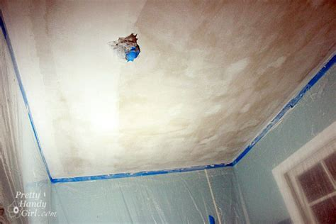 scraping your own popcorn ceilings it s a but someone s gotta do it pretty handy