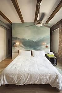 Wandfarben Ideen Schlafzimmer : 32 wandfarben ideen mit aquarell die sie begeistern werden ~ Markanthonyermac.com Haus und Dekorationen