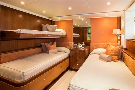 What Is A Pullman Bed by B Luxurious Sailing Charter Yacht Mediterranean Nyc