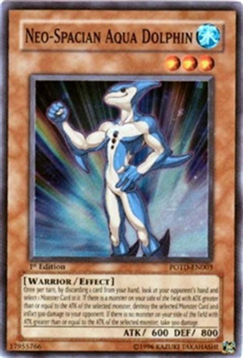 yu gi oh power of the duelist single neo spacian aqua dolphin da card world