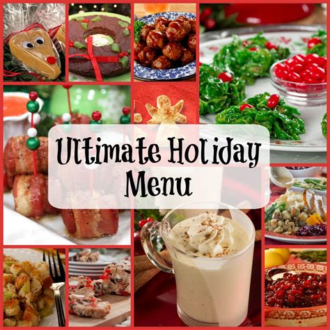 Ultimate Holiday Menu 350+ Recipes For Christmas Dinner