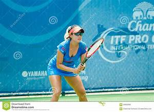 Chang ITF Pro Circuit 2015 editorial stock image. Image of ...
