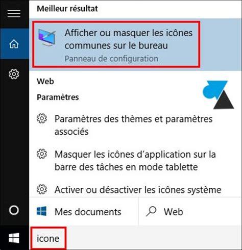 windows 10 afficher l ic 244 ne ordinateur ce pc sur le bureau windowsfacile fr