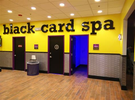 black card membership chairs tanning beds
