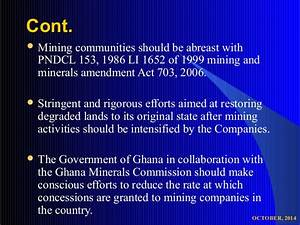 Environmental Rights and Mining in Ghana