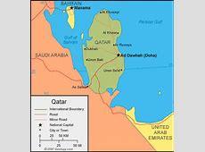 Katar Haritası ve Katar Uydu Görüntüleri