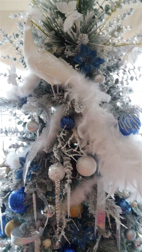 787 Best Christmas Peacock Trees Images On Pinterest  Peacock Christmas Tree, Christmas Deco