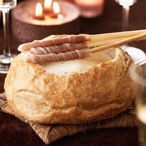 fondue savoyarde au chagne facile recette sur cuisine actuelle