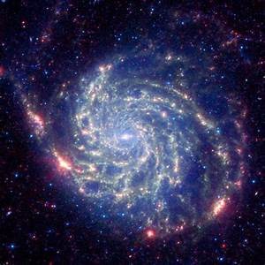 Space Images | Spitzer Space Telescope's View of Galaxy ...