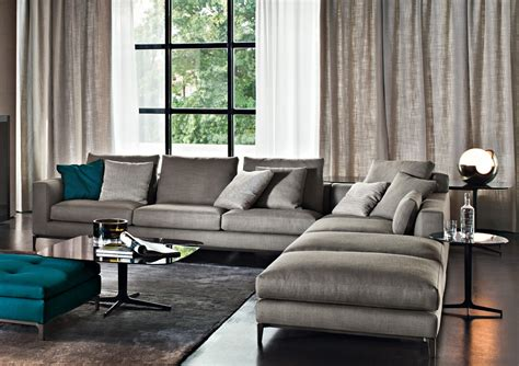 grey sectional living room ideas furniture minotti on sofas armchairs and