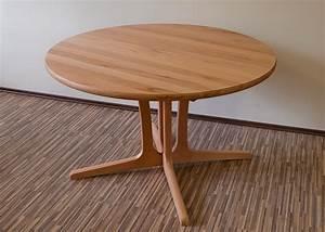 Tischplatte Rund 120 Cm : esstische aus kernbuche esstische rund und ausziehbar ~ Markanthonyermac.com Haus und Dekorationen