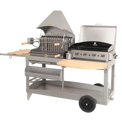 barbecue et plancha au charbon de bois et au gaz lemarquier mendy alde leroy merlin