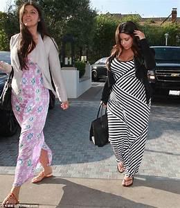 Pregnant Kim Kardashian swaps curve-hugging for comfort in ...