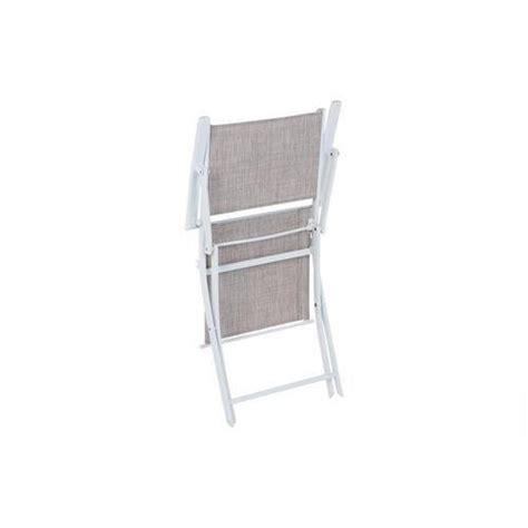 fauteuil d ext 233 rieur modula pliant taupe chin 233 achat vente fauteuil de jardin pliant pas