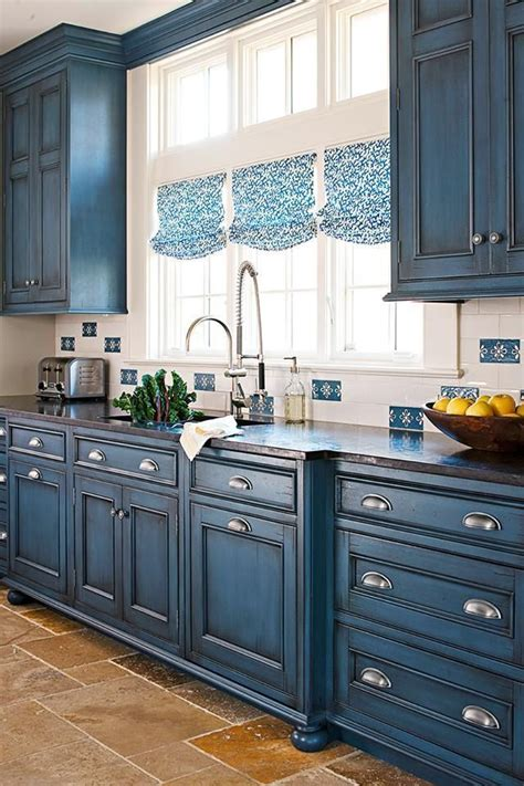 25 best ideas about navy kitchen cabinets on