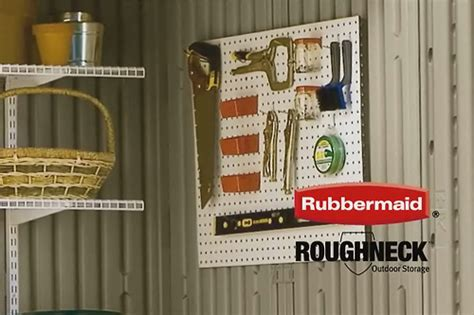 rubbermaid roughneck shed accessories flickr photo