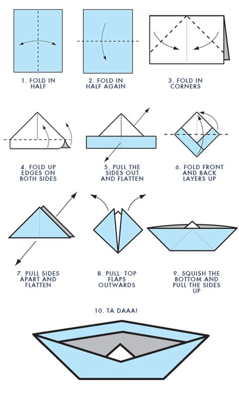 Origami Love Boat by How To Make A Paper Boat Teacher Stuff Pinterest