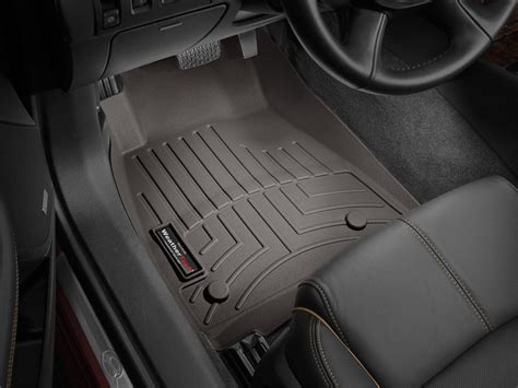 weathertech floorliner digitalfit front rear cocoa