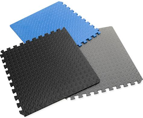 large interlocking foam mats tiles play garage