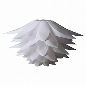Kronleuchter Mit Lampenschirm : diy lotus lampenschirm wei miri puzzle iq deckenlampenschirm pendelleuchte h ngeleuchte ~ Markanthonyermac.com Haus und Dekorationen
