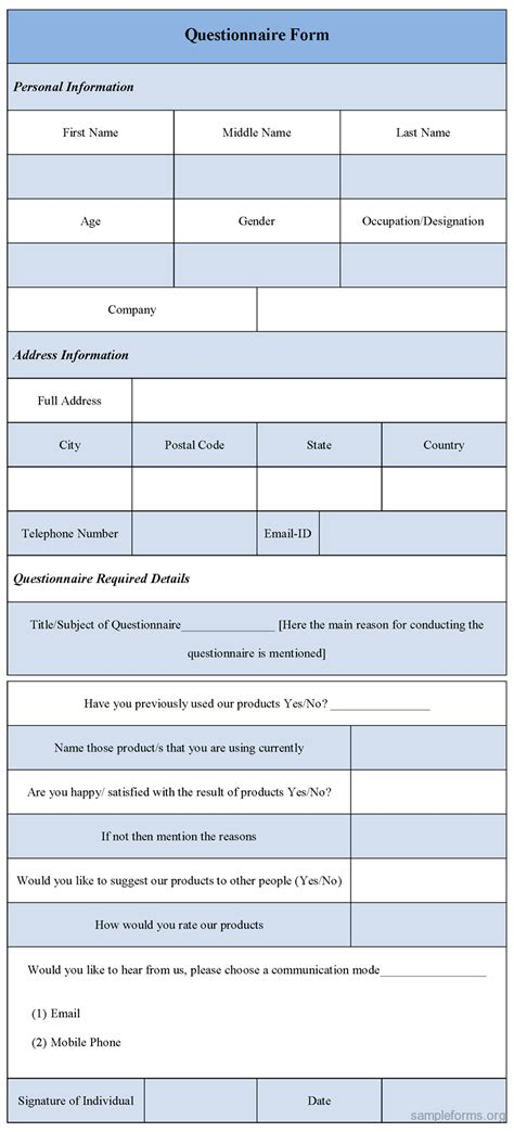 Questionnaire Form Template  Sample Forms. Olaf Printable Pictures. Informative Essay Outline Format Template. The Best Resume Format Ever Template. Www Resume Com. Spaghetti Squash Nutritional Values Template. Minutes Of Meeting Template Doc Template. Youtube Terms Of Service Template. Management Style Interview Question Template