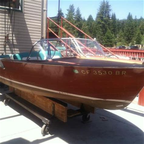 1961 Chris Craft Ski Boat by Chris Craft Ski Boat Sportsman 1961 For Sale For 500