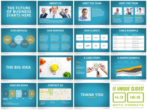 mega keynote presentation bundle pitchstock