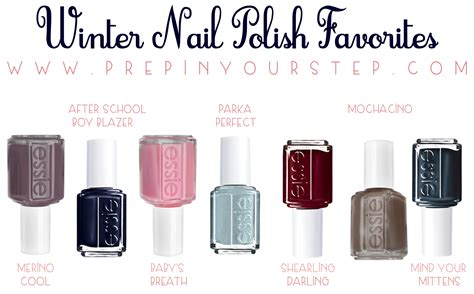 Favorite Nail Polishes This Winter