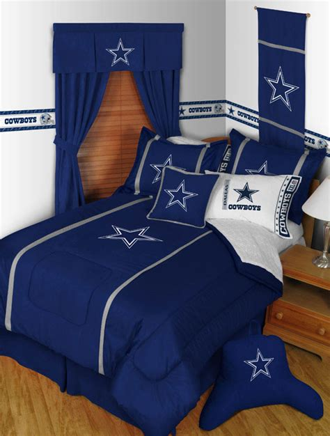 Decorating Ideas Dallas Cowboys Bedroom by Dallas Cowboys Mvp Pillow Sham