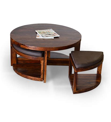 coffee table with stools by mudramark coffee centre tables furniture