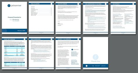 Business Proposal Template Ms Word